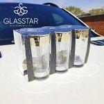 """Набор 6 стаканов Glasstar """"Зара"""" / 230 мл"""