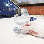 """Набор 6 бокалов для бренди Glasstar """"Барокко"""" / 250 мл"""