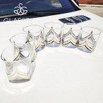 """Набор 6 стаканов для виски """"Триумф"""" / 330 мл"""