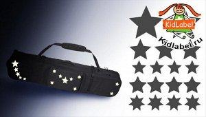 1звезды * легко фиксируются на гладкой поверхности * красивые и безопасные * подходят для длительного использования * бликеры имеют высокие показатели по световозвращающим свойствам