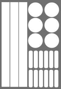 геометрия * легко фиксируются на гладкой поверхности * красивые и безопасные * подходят для длительного использования * бликеры имеют высокие показатели по световозвращающим свойствам