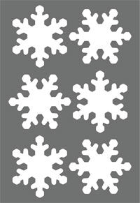 снежинки * легко фиксируются на гладкой поверхности * красивые и безопасные * подходят для длительного использования * бликеры имеют высокие показатели по световозвращающим свойствам.