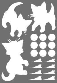 котята * легко фиксируются на гладкой поверхности * красивые и безопасные * подходят для длительного использования * бликеры имеют высокие показатели по световозвращающим свойствам
