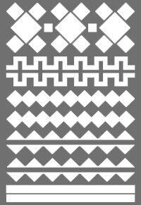 орнамент * легко фиксируются на гладкой поверхности * красивые и безопасные * подходят для длительного использования * бликеры имеют высокие показатели по световозвращающим свойствам