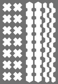 крестики * легко фиксируются на гладкой поверхности * красивые и безопасные * подходят для длительного использования * бликеры имеют высокие показатели по световозвращающим свойствам