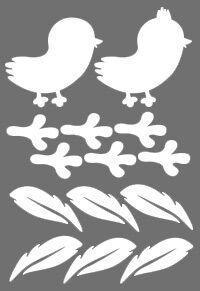 Птички * легко фиксируются на гладкой поверхности * красивые и безопасные * подходят для длительного использования * бликеры имеют высокие показатели по световозвращающим свойствам