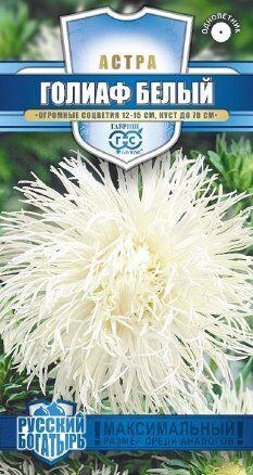 Семена Цветы Астра 0,3г (игольчатая) Гавриш