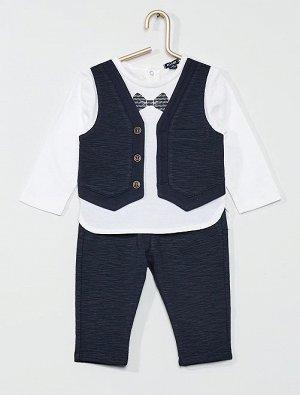 Комплект из футболки '2 в 1' и брюк