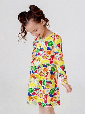 Платье Элла арбузы