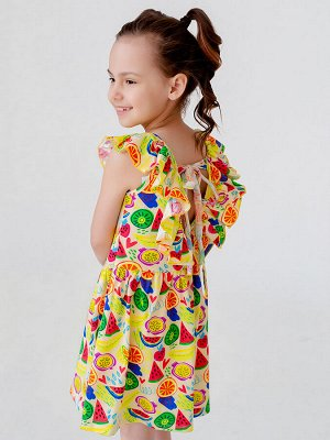 Платье Тиа арбузы