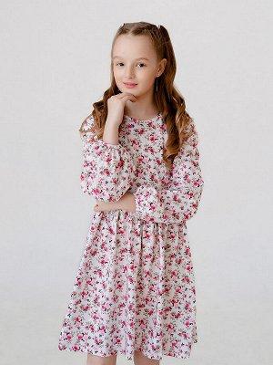 Платье Моана MAX цветы