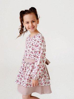 Платье Provance цветы беж