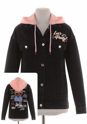 Джинсовая куртка JQ-9013