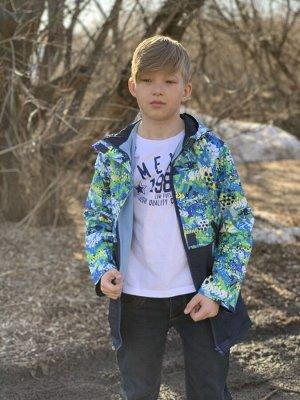 Куртка для мальчиков на флисе