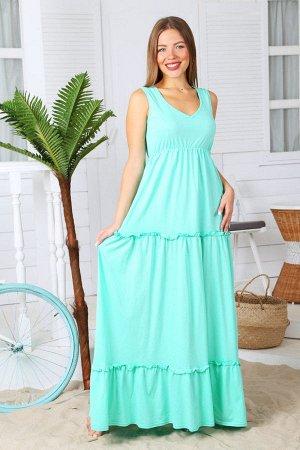 Платье П 148 (Ментол)
