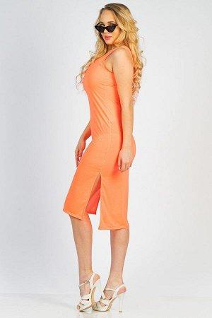 Платье П 007 (Розовый неон)