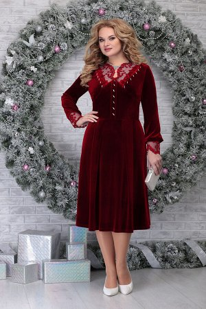 Платье Ninele 5818 красный
