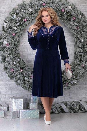 Платье Ninele 5818 синий