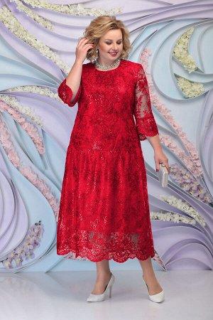 Платье Ninele 7293 красный