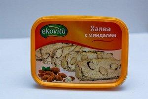 Халва кунжутная Ekovita с миндалем
