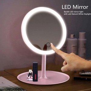 Зеркало косметическое для макияжа с подсветкой tsble lamp make up mirror