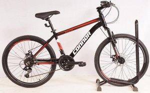 """Велосипед CONNOR BARRY 24"""" T20B216-24 (черно/красно)"""