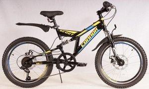 """Велосипед CONNOR SCOUT 20"""" C13B114-20 (черно/желтый)"""
