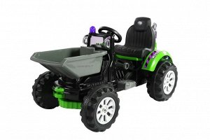 Машина на аккумуляторе для катания детей JS328C (зеленая)