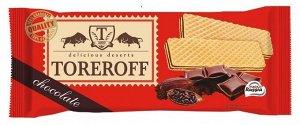 """Вафли """"Шоколадные"""" 160г TOREROFF"""
