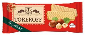 "Вафли ""Со вк.лесного ореха"" 160г TOREROFF"
