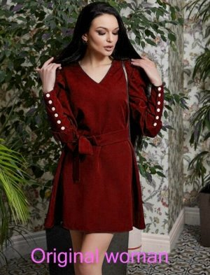 Платье ткань- барби; длина 90см