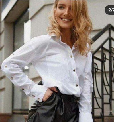 Гардероб для плюсиков! Стильная Одежда от 42 до 70 р-ра! — Рубашки женские 42-52 р-ры — Рубашки и блузы