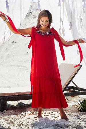 Платье Vittoria Queen 12793 красный