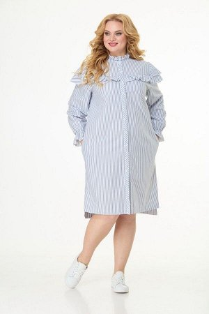 Платье Anelli 1024 полоска