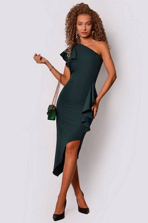Платье PATRICIA by La Cafe F14993 зеленый