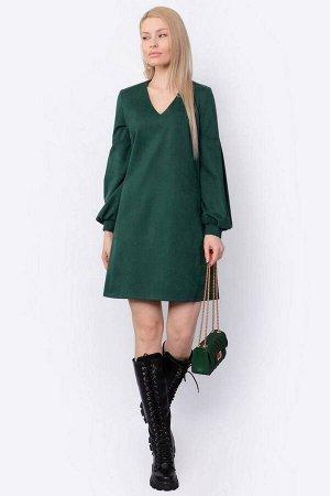 Платье PATRICIA by La Cafe F15013 зеленый