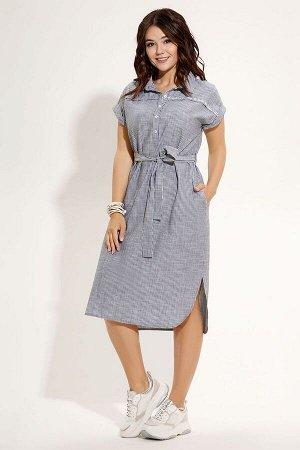 Платье Панда 483680 серый