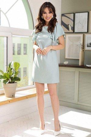 Платье, юбка Мода Юрс 2682 голубой
