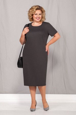 Жакет, платье Ивелта плюс 600 серый