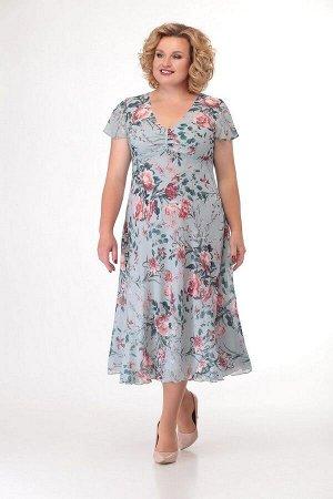Жакет, платье Slaviaelit 166-2 мята
