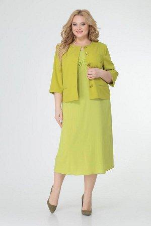 Жакет, платье TrikoTex Stil М1421