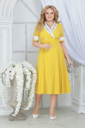 Платье Ninele 2290 желтый