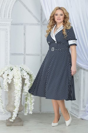 Платье Ninele 2290 синий