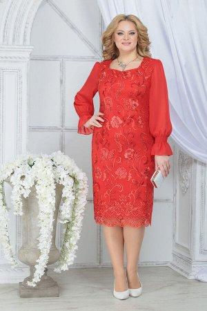 Платье Ninele 2289 красный