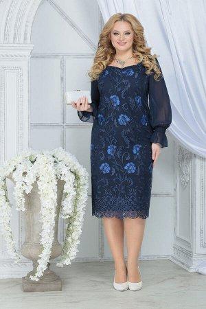 Платье Ninele 2289 синий