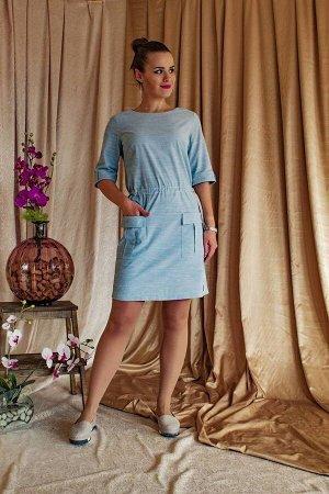 Платье Arisha 1255 ментоловый