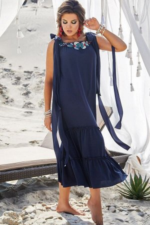 Платье Vittoria Queen 12793/1 синий