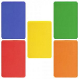 Обложка-карман для проездных документов, карт, пропусков, 100х65 мм, ПВХ, цвет ассорти, STAFF, 237589