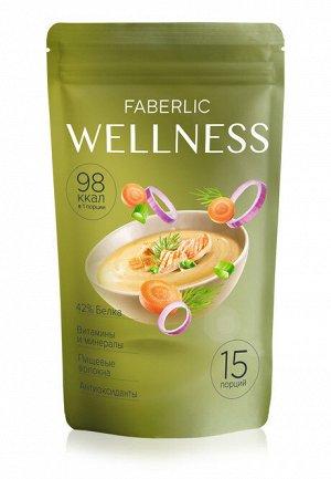 Сухой белковый суп Wellness со вкусом «Куриный с зеленью»
