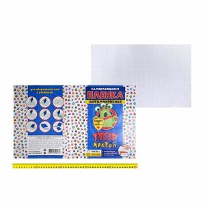 Плёнка самоклеящаяся 50 х 30 см, 80 мкм, 10 листов «StopМикроб», прозрачная, с антимикробным покрытием